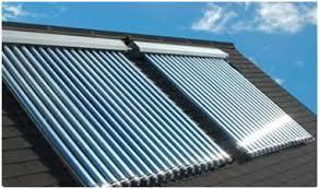 Sončni kolektorji na strehi