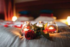 romantično razvajanje